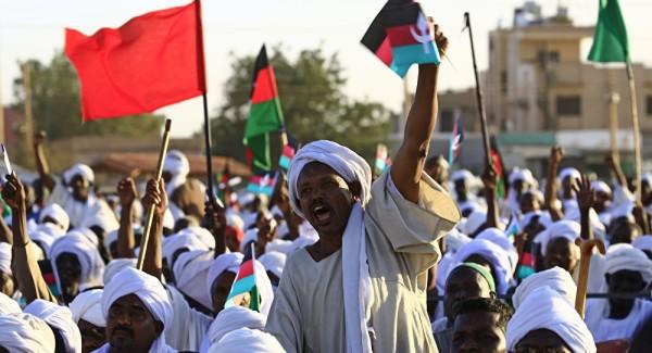جنبش انقلابی جاری در سودان